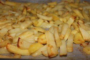 Τηγανητές πατάτες φούρνου - συνταγή