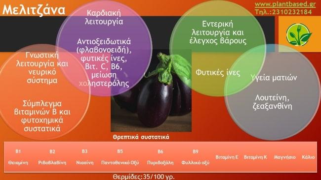 Μελιτζάνα infographic
